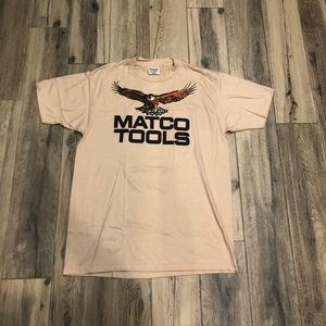 Matco tools vintage single stitch shirt XL